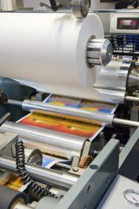 Printing machine.
